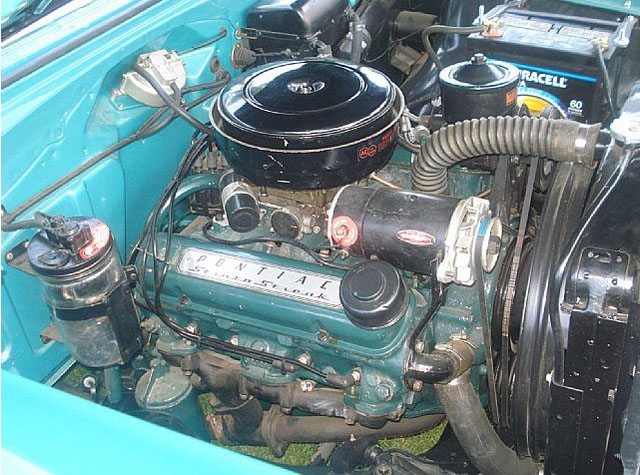 1955 Pontiac Safari engine