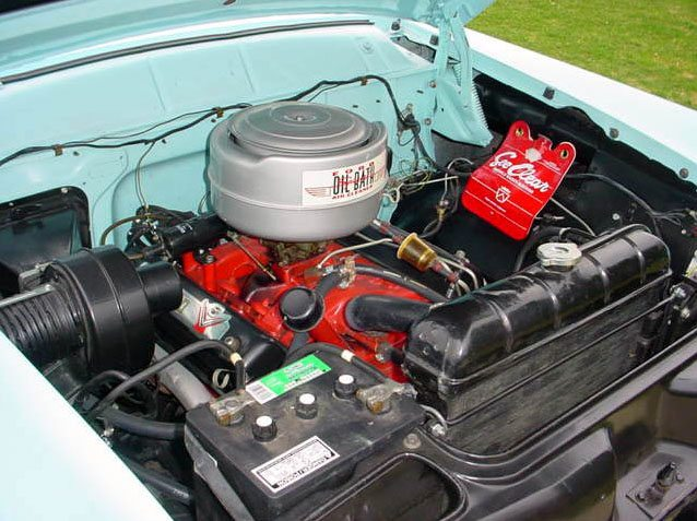 1955-country-squire-engine