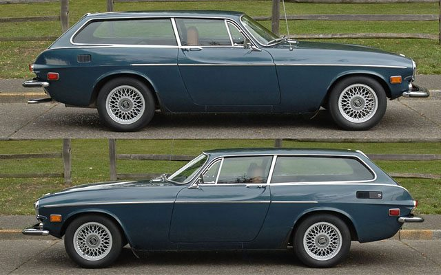 Gallery For Gt Volvo P1800 Wagon