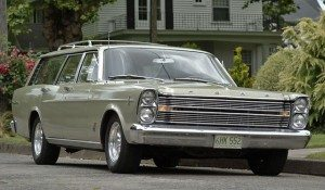 Country Drive: 1966 Ford Galaxie Country Sedan