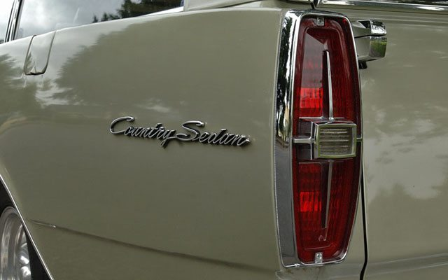1966 Ford Galaxie Country Sedan Station Wagon Tail light