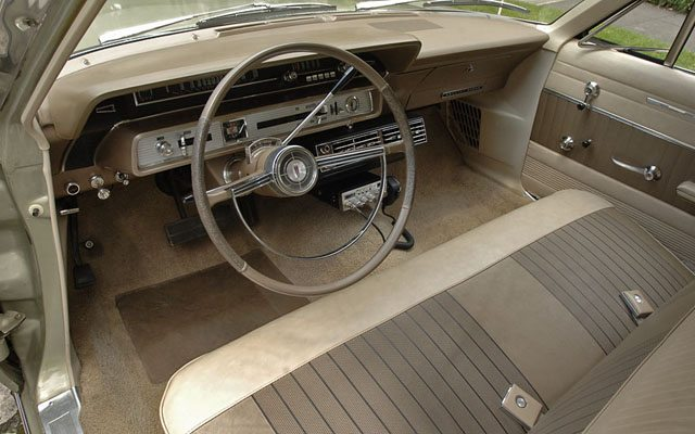 1966 Ford Galaxie Country Sedan Station Wagon Interior