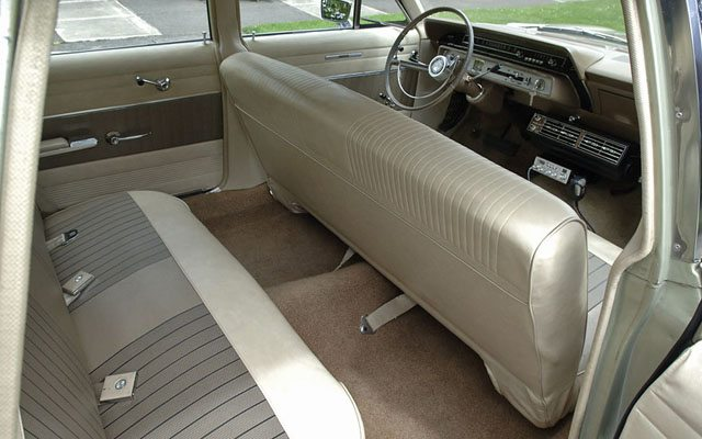 1966 Ford Galaxie Country Sedan Station Wagon Back seat