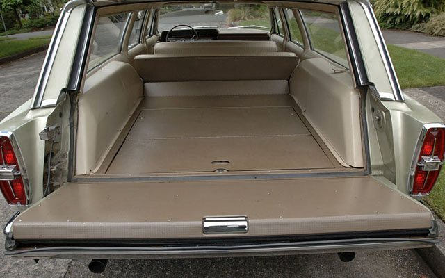 1966 Ford Galaxie Country Sedan Station Wagon Cargoi
