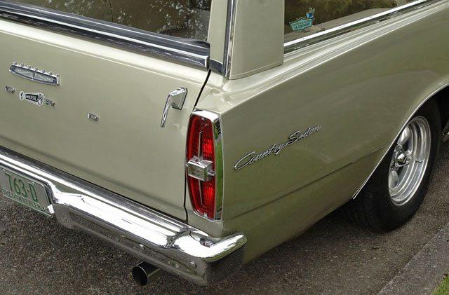 1966 Ford Galaxie Country Sedan Station Wagon Rear