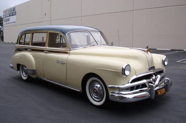 1951 Pontiac Chieftain Station Wagon 1