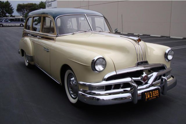 1951 Pontiac Chieftain Station Wagon 2