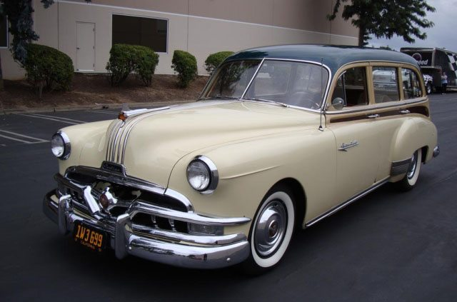 1951 Pontiac Chieftain Station Wagon 4
