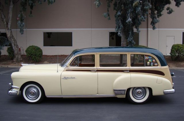 1951 Pontiac Chieftain Station Wagon