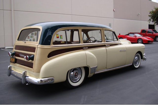1951 Pontiac Chieftain Station Wagon 6