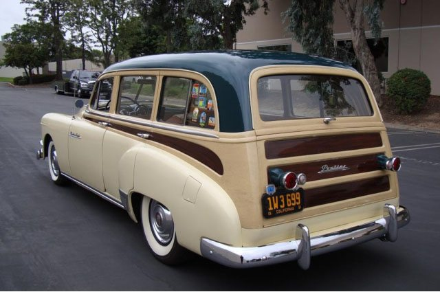 1951 Pontiac Chieftain Station Wagon 7