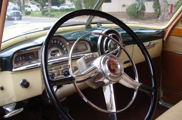 1951 Pontiac Chieftain Station Wagon Interior 8