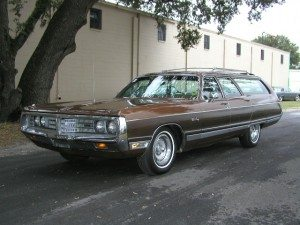 Brown Beauty: 1972 Chrysler Town & Country