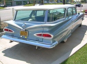 Gullwing Cruiser: 1959 Chevrolet Parkwood