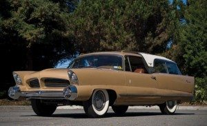 Wild West Wagon: 1956 Chrysler Ghia Plainsman Concept Car