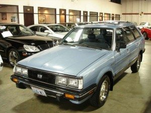 9,431 Miles from New: 1983 Subaru GL 4×4