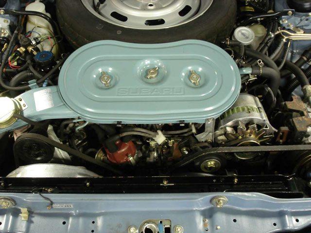 1983 Subaru GL Engine