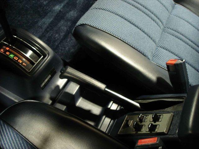 1983 Subaru GL interior