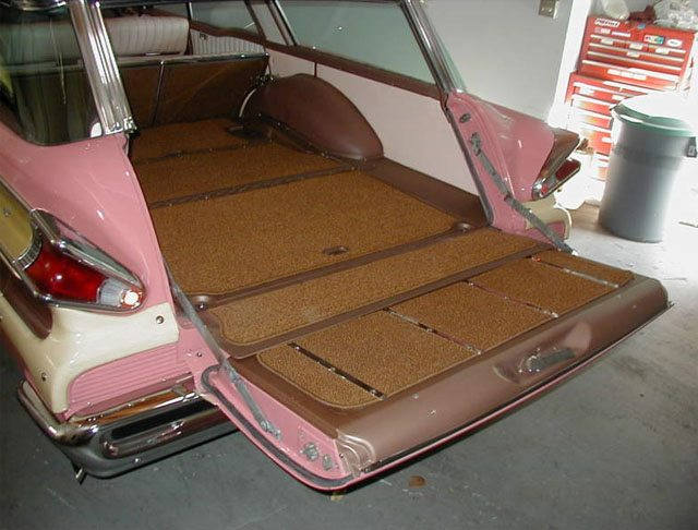1957 Mercury Colony Park Interior