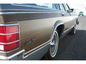 4,516 Original Miles: 1983 Mercury Colony Park Country Squire