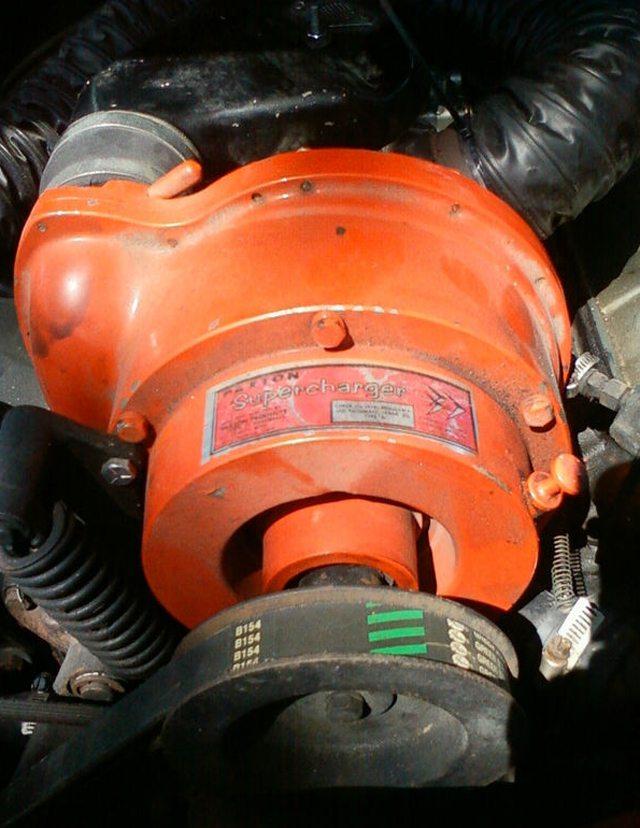 1963 Studebaker Wagonaire Supercharger
