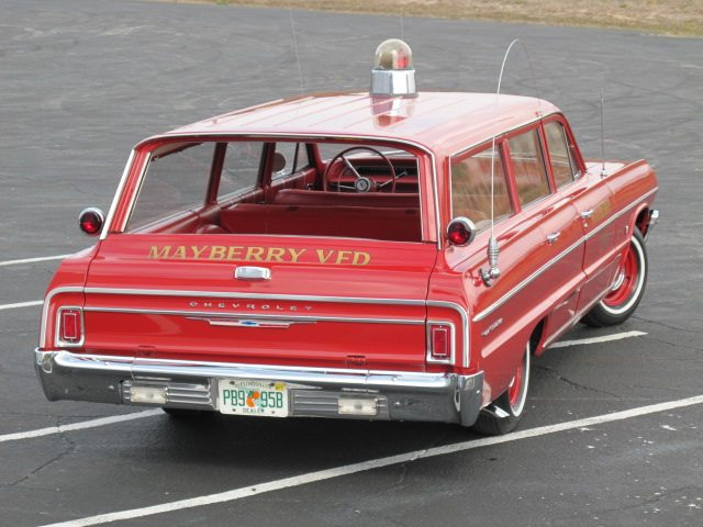 1964 Chevrolet Bel Air station wagon 1