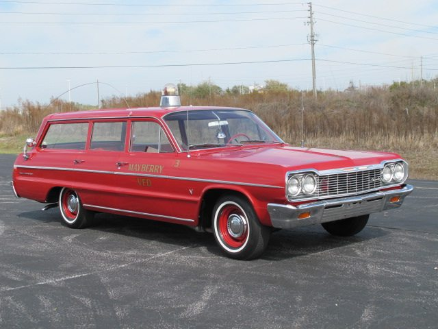 1964 Chevrolet Bel Air station wagon 3