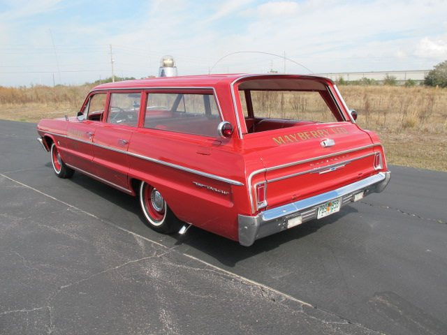 1964 Chevrolet Bel Air station wagon 5