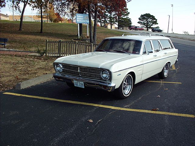 1967 Falcon Futura Stationwagon 1