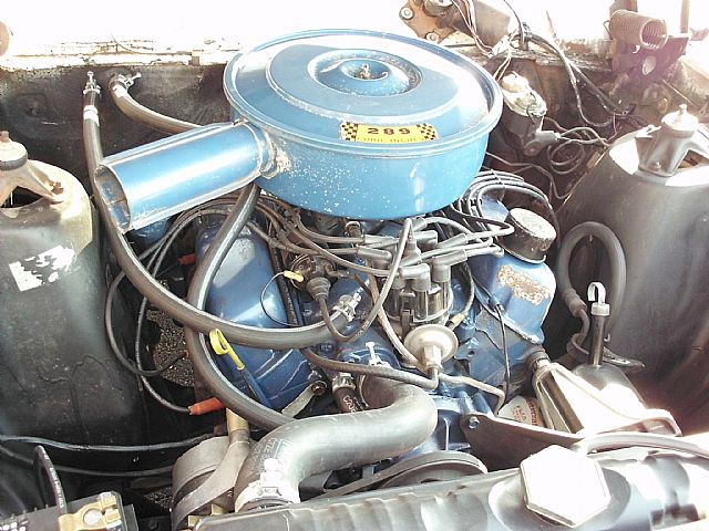 1967 Falcon Futura Stationwagon engine