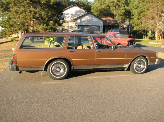 1985 Caprice Classic Station wagon 1