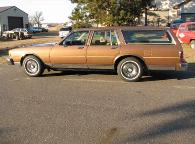 1985 Caprice Classic Station wagon 5