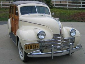 Debut Wagon: 1940 Oldsmobile 40 Woody