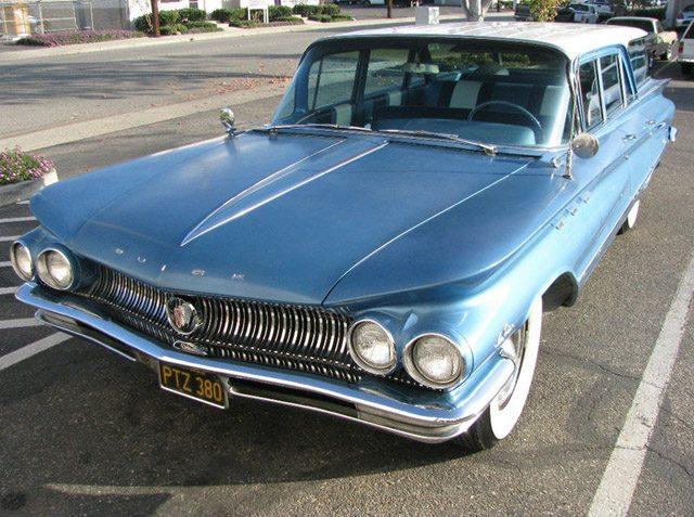 1960 Buick LeSabre Sation Wagon 1
