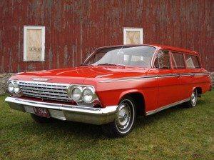 Classic Red Wagon: 1962 Impala