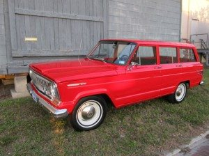 28K Original: 1968 Jeep Wagoneer