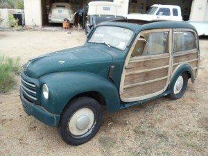 Italian Woodie: 1951 Fiat 500 Giardiniera