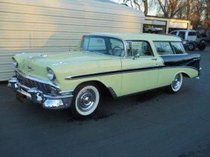 2 Door Beauty: 1956 Chevrolet Nomad