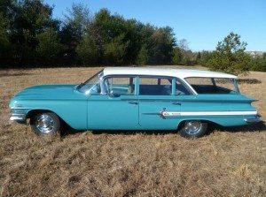 No Reserve: 1960 Chevrolet Impala Nomad