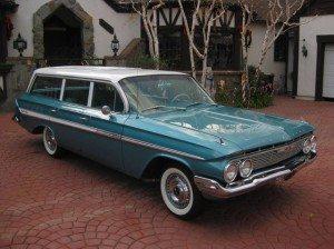 No Reserve: 1961 Chevrolet Impala Nomad
