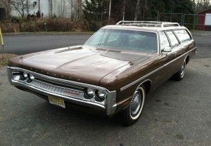 Brown Beauty: 1971 Plymouth Fury