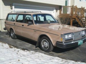 OMG! No way Dad: 1981 Volvo 240