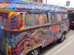 Far Out: 1977 Volkswagen Hippie Bus