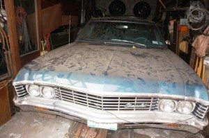 Barn Fresh: 1967 Chevrolet Impala