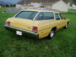 454 Clamshell: 1973 Chevrolet Impala