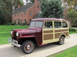 1947 Willys-Overland Jeep Station Wagon