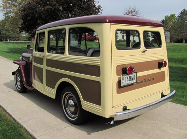 1947 Willys Overland Jeep Station Wagon Finder