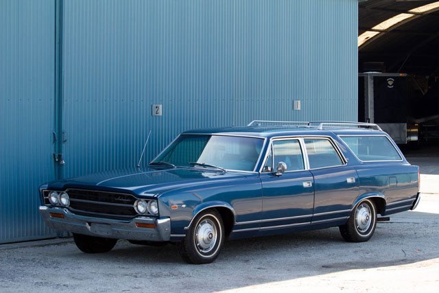 1969 AMC Ambassador station wagon 1