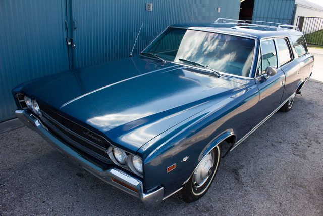 1969 AMC Ambassador station wagon 2