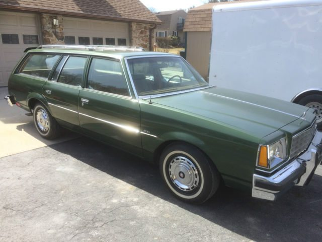 1980 Buick Century staion wagon 1